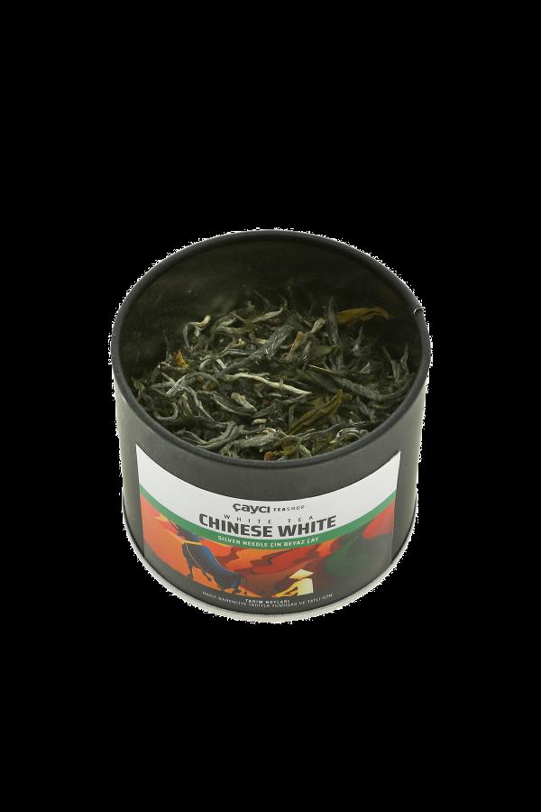 Chinese White Tea 25g Teneke