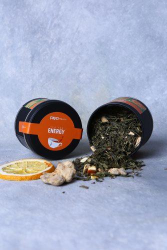 Tea For Energy 25g Teneke