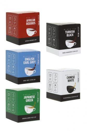 Dünya Çayları Müslin Çay 5'lı Paket