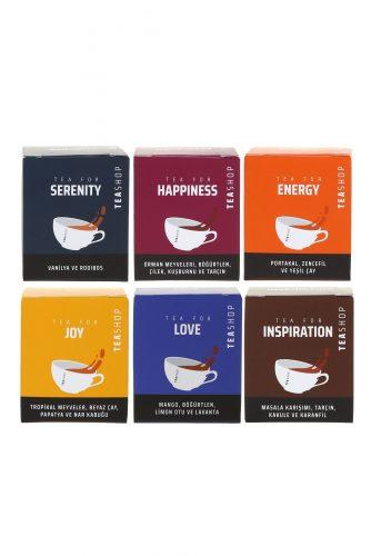 Mood Çayları Müslin Çay 6'lı Paket